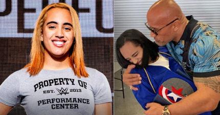 巨石強森愛女「簽約WWE」 未進「先破史上紀錄」選手挫勒等!