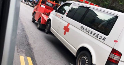 救護車出勤「違停被拖吊」 司機氣急敗壞:人命算誰的?