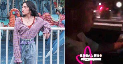 網美炫耀「16歲男友」無照駕駛 放話告酸民:很多人都這樣