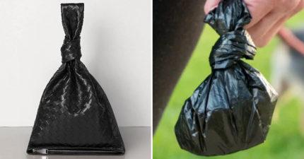 時尚品牌推「全黑皮革潮包」網笑翻:有錢人拿這個「裝狗屎」?