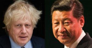 首相強森「公開撐港」槓上中國 提供「300萬港人」居留英國!