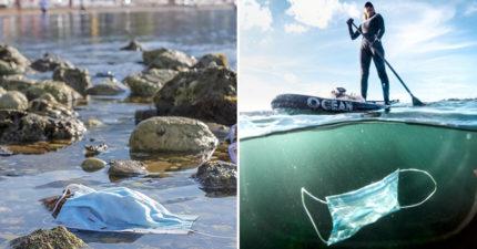 全球因疫情消耗「2千億個口罩」 專家:「塑膠污染」要來了!