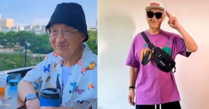 阿公比你潮!83歲退休爺爺「熱愛時尚」...潮鞋只是基本