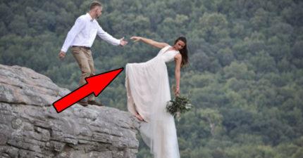 新人懸崖拍「絕命婚紗照」被罵 攝影師揭「內幕」發現誤會大了