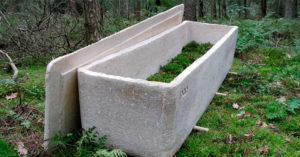 世界首座「活棺材」出現 2年「分解掉你的身體」對地球超有愛!