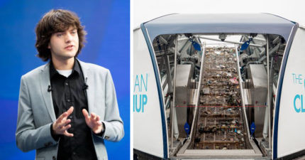 海洋有救了!18歲天才發明「海上吸塵器」 60台幫地球回歸上世紀容貌