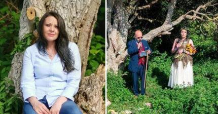媽媽甩男友「嫁給一棵樹」 她公開超暖原因甜笑:婚後生活很美滿!
