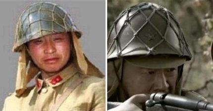 二戰日軍鋼盔「醜到不可思議」?詭異「漁網設計」能在關鍵時救你一命