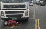 25歲高雄女外送飲料「遭輾斃」 肇事司機是「訂外送顧客」