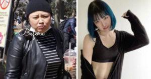 宅在家也能瘦身!她玩健身環一年「激砍30kg」 曬「完美腹肌」公開日程