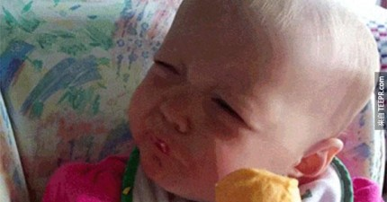 26個寶寶的「第一次」的驚奇反應