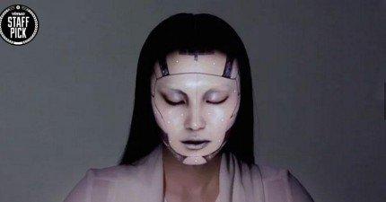 OMOTE臉部追蹤投影