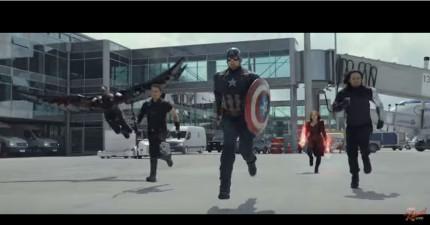 《美國隊長3:英雄內戰》完整預告片剛剛推出幾小時,終於看到劇情:美國隊長跟鋼鐵人開打了!