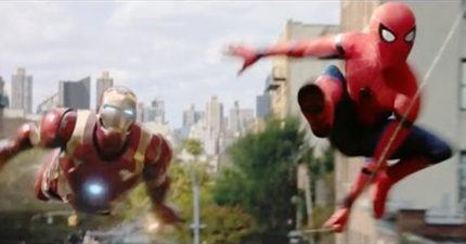 《蜘蛛人:返校日》新預告出爐,1:46郵輪分兩半他兩邊拉住快爆掉!