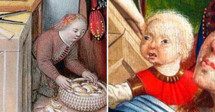 中古世紀「畫裡嬰兒」都像糟老頭?跟「煉金術」有超詭異連結