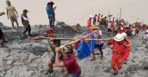 緬甸玉石場崩塌奪162命「屍袋排滿現場」200多人還沒找到