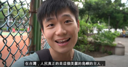 中國網紅「住台2個月」 拍片大讚:台灣是「亞洲最自由」的地方