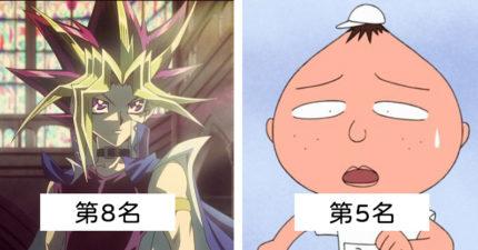 日本票選Top10「髮型最不科學」動漫人物 小蘭居然不是第1