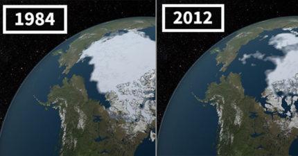 20張NASA照片顯示「地球可怕劇變」 沙漠竟開始下雪