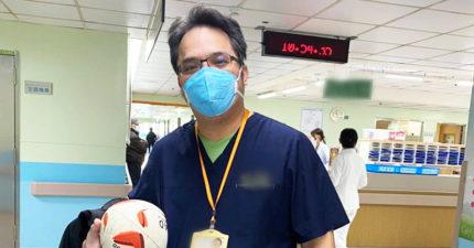 妻小趕回鄉!部桃醫「憔悴照」惹哭網友 名醫揭17年前慘況:大家愛台灣嗎?