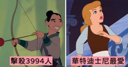 白雪公主7歲就丟了初吻?迪士尼公主「私下小秘密」 艾莎本來是最惡毒反派