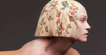 不用再靠染髮!全新技術「印髮」鑽研9年 「圖案、顏色超自由」爆紅時尚界