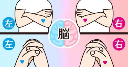 你是理性派還是感性派?2個肢體動作知道自己是「右腦人」or「左腦人」